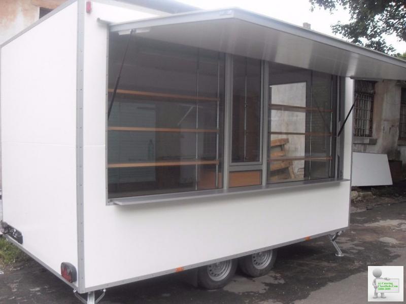 Catering Trailer Burger Van Street Food Van Mobile Kitchen