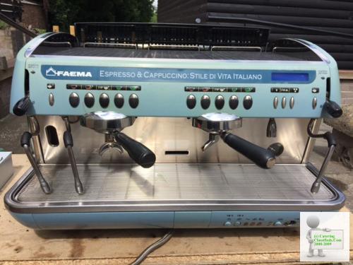 Faema E92. 2 Group machine