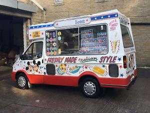 Soft Ice Cream Van