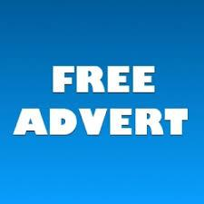Free Adverts available until the end of the year