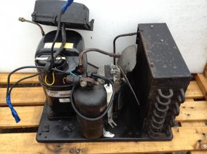 CARPIGIANI ICE CREAM VAN MACHINE SPARE PARTS PLUS 1HP COMPRESSOR AND CONDENSING UNIT.