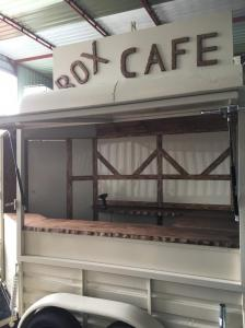 Horsebox catering trailer