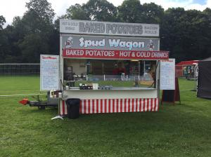 REDUCED!! Catering Trailer - The Spud Wagon for sale!