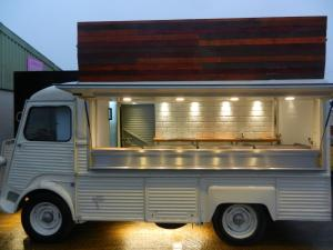 Citroen H van Conversion Mobile Catering Trailer