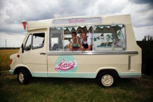 Ice Cream Van - Vintage, Mercedes, 1 year MOT, ready for business!