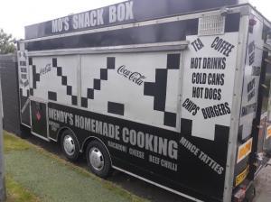 Burger Van / Catering Trailer 18ft x 7ft