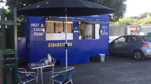 Catering snack van cafe for sale