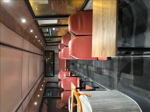 Double decker catering bus