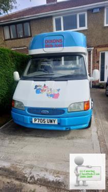 Mr Softy Ice Cream Van