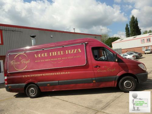 pizza catering van