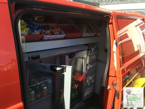 Mobile coffee van business