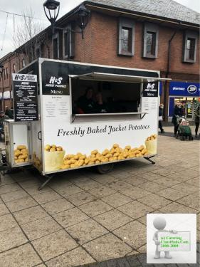 Jacket Potato stall Rotherham Markettall Rotherham Market