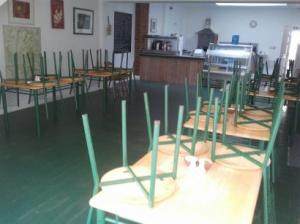 Whole cafe equipment