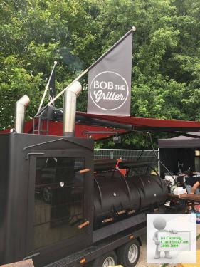 Mobile BBQ / Smokehouse Trailer