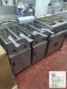 New used catering equipment.
