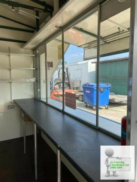 Kiosk Snacks Wagon Catering Trailer Bar Food Retail Shop Very Secure