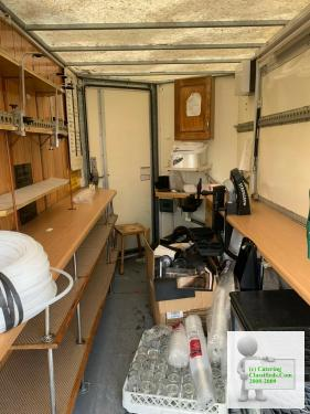 Mobile bar catering trailer