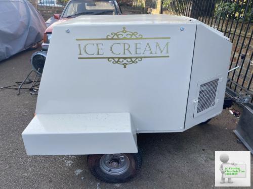 Tow Along Ice Cream Trailer