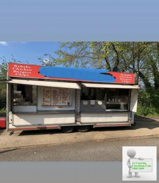 used catering trailers