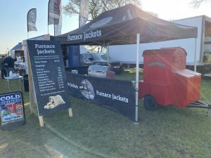 Jacket Potatoe King Edward Oven Catering Stall With Gazebo Street Food