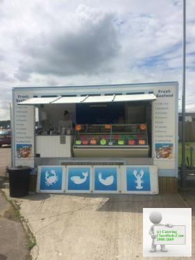 Catering Seafood Trailer