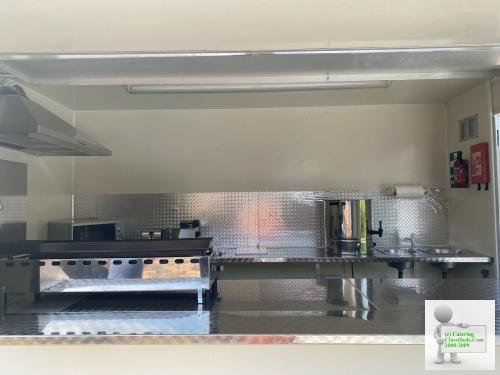 Mint Catering Trailer Burger Van Food Trailer With Brand New Equpment Superb
