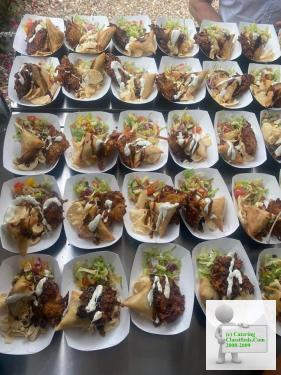 Indian street food available for private events