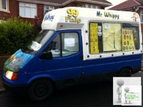 Mr Whippy Ice Cream Van For Sale