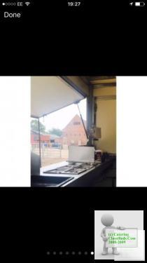 Established Catering Trailer