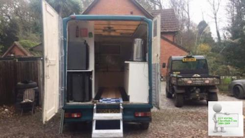 Mobile Catering Vehicle (Burger van) Business Low mileage All gas
