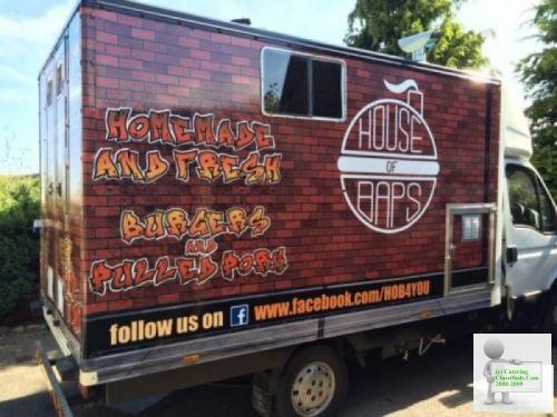 Catering van/trailer - established business with pitch