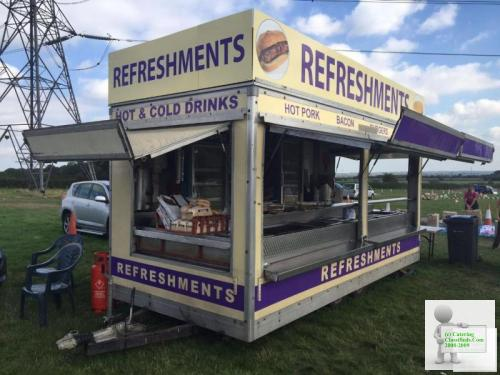 Showmans Catering Trailer