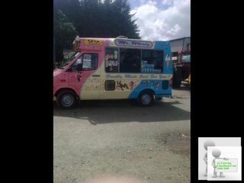 Ford Transit Soft ice Cream Van
