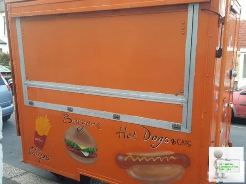 5ft x 8ft catering trailer