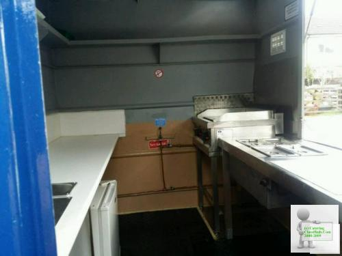 Catering trailer just refurbished