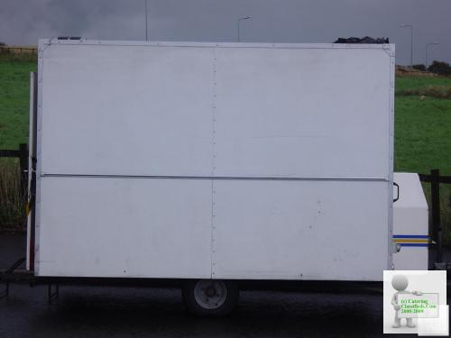 10x6 Catering Trailer with Generator