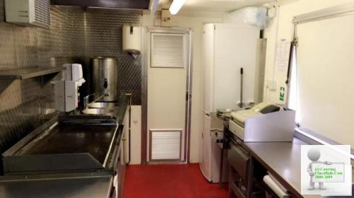 14 Foot Butler Catering Trailer