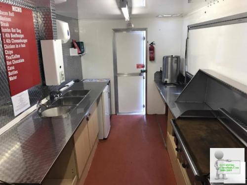 18ft catering trailer