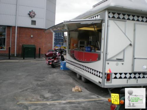 Pitch & New Catering Trailer to RENT £100 pw