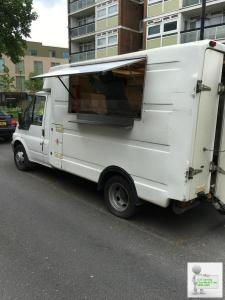Mobile catering food van