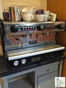 La Spaziale Coffee Machine and Grinder