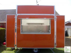 8' Catering Trailer