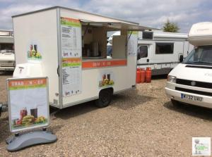 Mobile catering/burger trailer