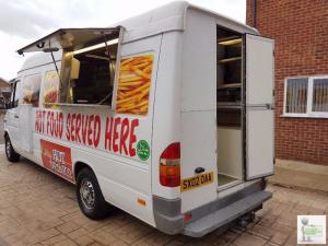 Walk through Catering van