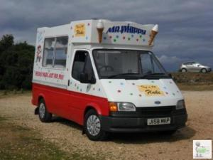 ESTABLISHED ICECREAM VAN & SEPARATE BURGER MOBILE