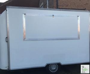 CATERING UNIT/MARKET STALL/EXHIBITION TRAILER
