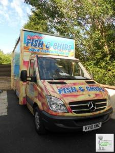 Motorised fish & chips van/unit & business