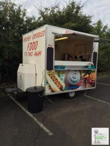 8x6 Catering Trailer