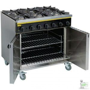 Buffalo Commercial 6 Cooker Range