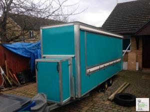 Catering trailer 16ft x 4ft